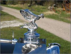 Limousinekørsel i Rolls-Royce Silver Wraith fra 1948